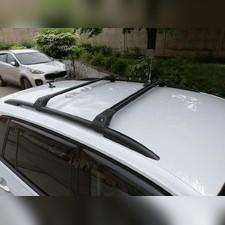 Поперечины на рейлинги аэродинамические Cadillac SRX 2010-2018 Tourmaline V1 Black