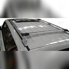 Поперечины на рейлинги аэродинамические с замком Cadillac SRX 2010-2018, Diamond SILVER