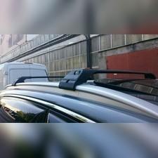 Поперечины на интегрированные рейлинги с замком BMW X5 2014 - нв, Turmaline V2 Black