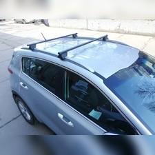 """Багажник на интегрированные рейлинги """"Integra"""" Kia Sorento 2014-2020 Кроссовер (прямоугольный)"""