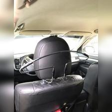 Вешалка универсальная автомобильная для одежды (нержавеющая сталь)