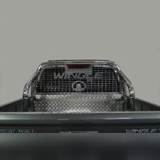 Защита кузова и заднего стекла 76,1 мм Great Wall Wingle 7 2020-нв