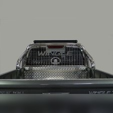 ащита кузова и заднего стекла 76,1 мм со светодиодной фарой Great Wall Wingle 2020 - нв