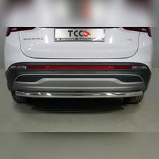 Защита задняя 60,3 мм Hyundai Santa Fe 2021 - нв