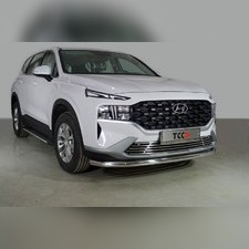 Защита передняя нижняя 60,3 мм Hyundai Santa Fe 2021 - нв