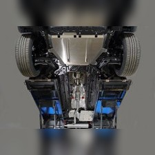 Защиты комплект (алюминий) 4 мм (картер, кпп, бак) Haval Jolion 2021 - нв
