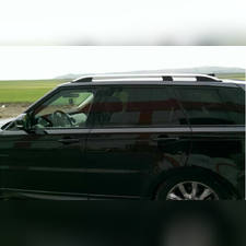 Рейлинги Land Rover Range Rover 2002 - 2012 (OEМ) серебро