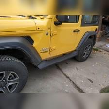 Комплект порогов Jeep Wrangler JL 2018-2020 (копия оригинала - OEM Style)