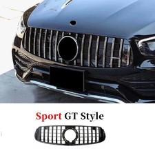 Решетка радиатора GT Mercedes GLC Coupe (C 253) хром 2019-нв