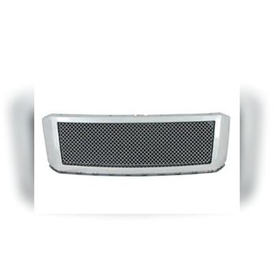 Решетка радиатора из нержавеющей стали с хромированной рамкой
