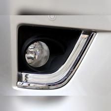 Штатные неоновые дневные ходовые огни (ДХО), комплект Toyota Corolla 2013-2019