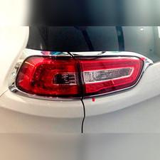 Накладки на задние фонари, хром OEM Jeep Cherokee 2014-нв