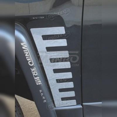 Задние и передние накладки кузова