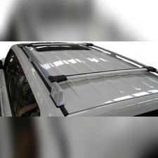 Поперечины на рейлинги аэродинамические, серия Diamond (серые)