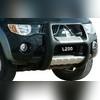 """Передняя защита из стального корпуса покрытая полиуретаном с логотипом """"L200"""", модель """"NEMRUT"""""""