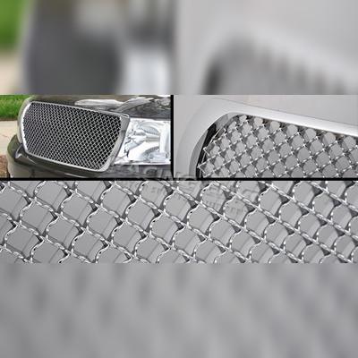 Хромированная решетка радиатора