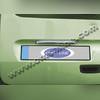 Накладка над номером на крышку багажника