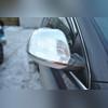 Накладки на зеркала Volkswagen Touareg 2007 - 2010 (нержавейка)