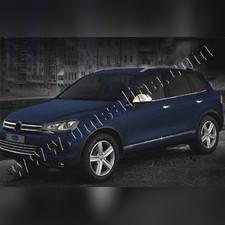 Нижние молдинги стекол (нержавеющая сталь) Volkswagen Touareg 2010-2018