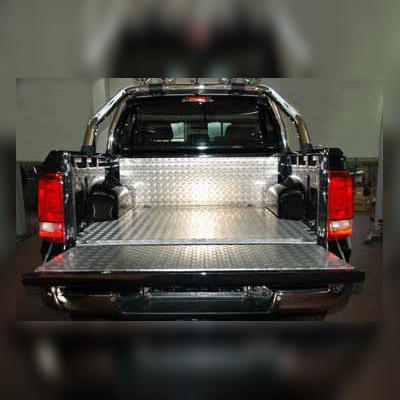 Алюминиевая защита кузова