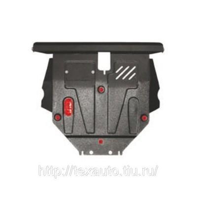 Стальная защита двигателя, КПП и радиатора
