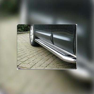 Пороги комплект 60 мм с листом