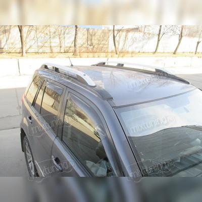 Рейлинги алюминиевые Suzuki Grand Vitara 2005 - 2019 (серебристые)