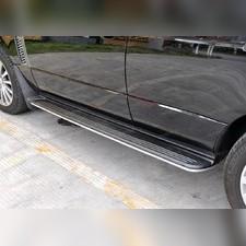 Пороги Land Rover Range Rover 2002 - 2013 (копия оригинала - OEM Style)