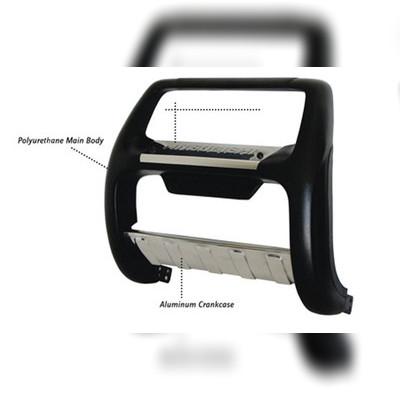 """Передняя защита из стального корпуса покрытая полиуретаном с логотипом, модель """"NEMRUT"""""""