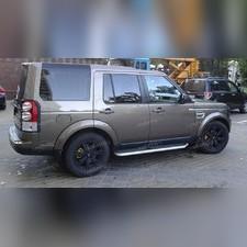 Пороги, подножки, ступени Land Rover Discovery 4 (копия оригинала - OEM Style)