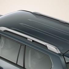 Рейлинги Toyota Land Cruiser Prado 150 комплект OEM (серебро)