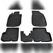 Коврики в салон (черные) Renault Duster 2011 - 2015