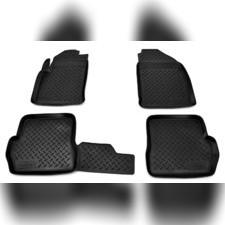 Коврики в салон (черные) Ford Fusion 2002 - 2012