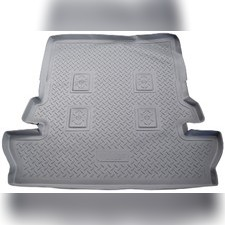 Коврик в багажник (серый)