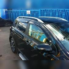 Дефлекторы окон Nissan Qashqai 2006-2014 (темные)