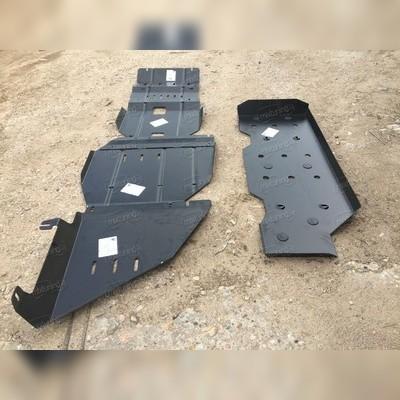 Защита картера, кпп, раздатка, радиатор, топливный бак