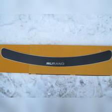 "Накладка на задний бампер с названием модели, Nissan Murano II (Z51) серия ""Premium Carbon"""