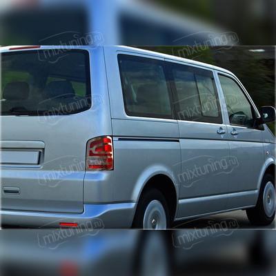 Накладки на фонари для VW Caravella 2010-2015