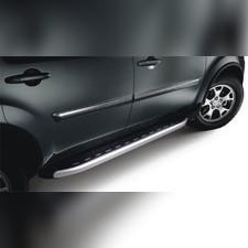 "Пороги, подножки, ступени Kia Sorento 2012 - нв, модель ""Alyans"""