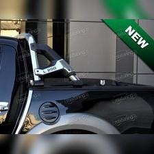 """Защитная дуга в кузов, модель """"RIO"""" (76 мм, с логотипом)"""