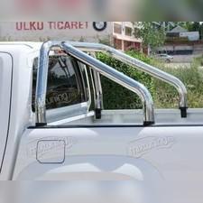 """Защитная дуга в кузов, модель """"DELUX"""" 70 мм"""