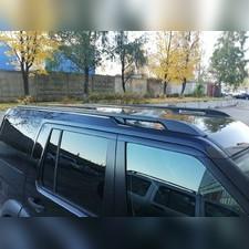 Рейлинги Land Rover Discovery 4 2009 - 2016 черные (копия оригинала)
