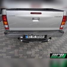 """Задняя подножка, модель """"TITANIC"""" (с логотипом модели автомобиля 60 мм)"""