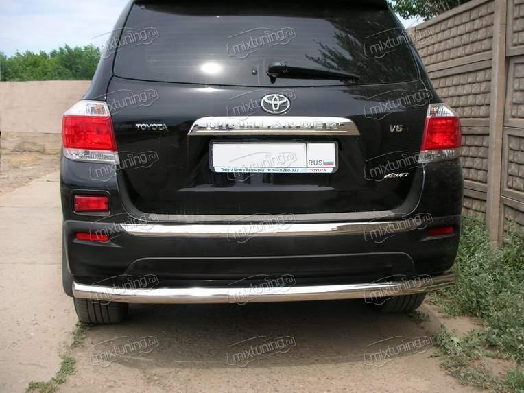 Тюнинг Toyota Highlander, аксессуары с фото, интернет ...