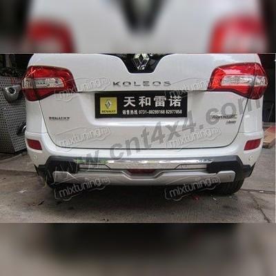 Защита заднего бампера пластик ABS