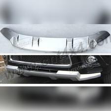 Защита переднего бампера пластик ABS