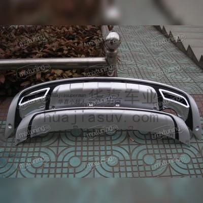 Накладки на передний и задний бампер (пластик ABS)