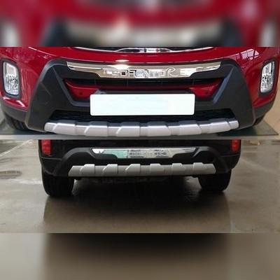 Накладка переднего и заднего бампера Kia Sorento 2013 - 2019 (OEM)