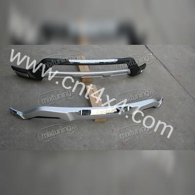 Комплект передей и задней защиты (пластик ABS)