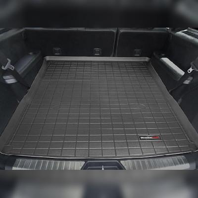 Ковер багажника черный